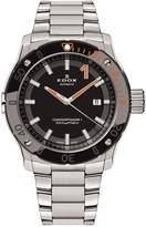 Edox Men's Co-1 43mm Steel Bracelet & Case Automatic Watch 80099 3om Nino