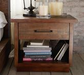 Pottery Barn Big Daddy's Antiques Wood Bedside Table