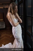 Women's Berta Embellished Lace Mermaid Gown