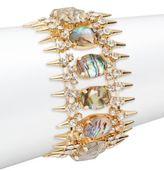 ABS by Allen Schwartz Abalone Spike Bracelet