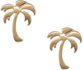 Lydell NYC Palm Tree Stud Earrings