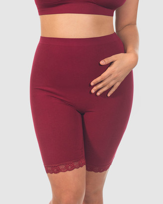 B Free Intimate Apparel - Women's Sleepwear & Loungewear - Curvy Anti-Chafing Cotton Shorts - Size One Size, M at The Iconic
