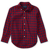 Ralph Lauren Childrenswear Checked Cotton Sport Shirt