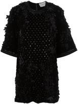 Amen floral applique dress