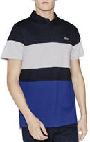 Lacoste Colour Block Stripe Polo