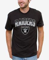 Junk Food Clothing Men's Oakland Raiders Split Arch T-Shirt