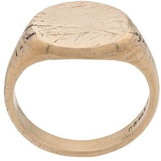 Niza Huang 9kt Gold Signet Ring