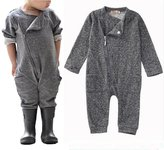 ABEE Infant Newborn Baby Boy Girl Long Sleeve Romper Bodysuit Jumpsuit Outfit Clothes