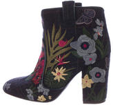 Laurence Dacade Embroidered Pete Tropicale Ankle Boots