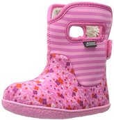 Bogs Toddler Classic Flower Stripes Winter Snow Boot(Toddler)