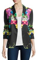 Berek Flower Pop Two-Button Jacket