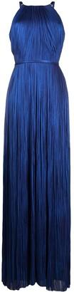 Maria Lucia Hohan Clarissa metallic pleated dress