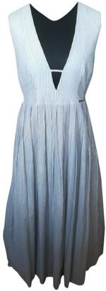 Mariagrazia Panizzi White Cotton Dress for Women
