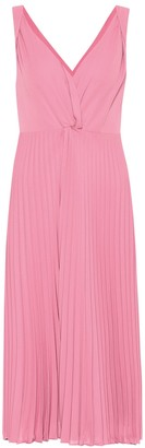 Vince Pleated midi dress