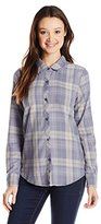 O'Neill Junior's Birdie Flannel Plaid Shirt