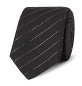 Saint Laurent - 5.5cm Striped Cotton-blend Tie