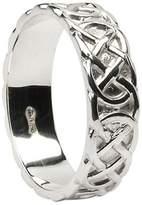 BORU Mens Closed Celtic Knot Wedding Band Size 12.5