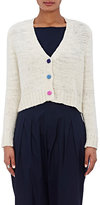 The Elder Statesman Women's Cashmere Crop Cardigan