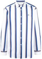Vivienne Westwood Man - striped shirt - men - Cotton - 48