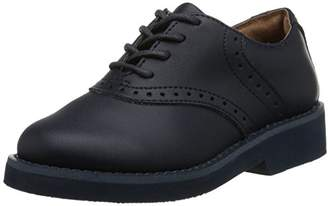 School Issue Girls' Leather Saddle Oxford