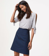 LOFT Chevron Pocket Skirt