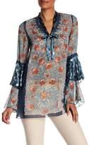 Anna Sui Flower Child Panel Tunic