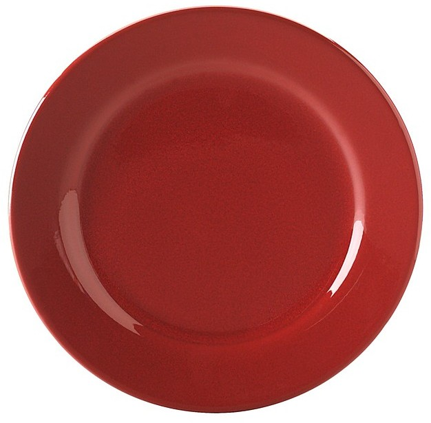 """Waechtersbach Cherry Red"""" Dinner Plate"""