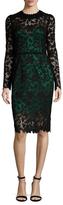Dolce & Gabbana Lace Scalloped Sheath Dress