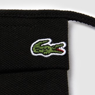 Lacoste L.12.12 Face Protection Mask in Cotton Pique