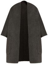 Vince Reversible wool and cashmere-blend coat