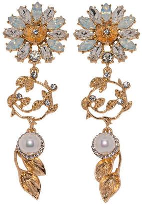 Ashlee Lauren Soriya Sunflower Earrings