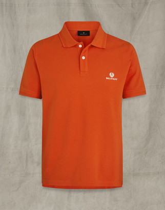 Belstaff SHORT SLEEVED POLO Orange