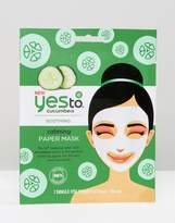 YES TO Yes To Cucumber Calming Paper Mask