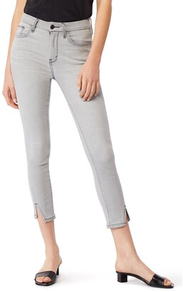Habitual Aimie Slit Hem Ankle Skinny Jeans