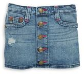 True Religion Little Girl's, & Girl's Button Down Skirt