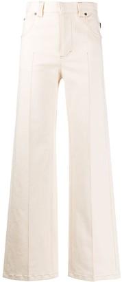 Chloé Long Straight Jeans