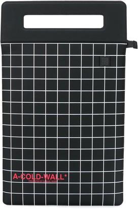 A-Cold-Wall* square print tote bag