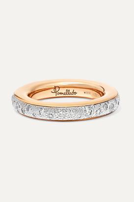 Pomellato 18-karat Rose Gold Diamond Ring - 15