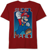 Nintendo Nintendo's Mario-Print Cotton T-Shirt, Big Boys