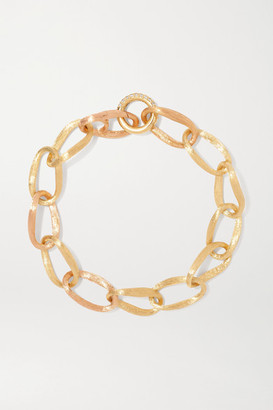 OLE LYNGGAARD COPENHAGEN Love Medium 18-karat Yellow And Rose Gold Diamond Bracelet - one size