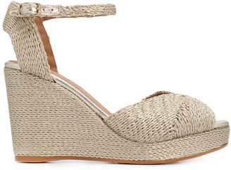 Castaner Bera 100mm wedge sandals