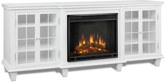 Pottery Barn Real Flame Marlowe Electric Fireplace Media Cabinet