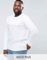 Asos PLUS Long Sleeve T-Shirt With Crew Neck