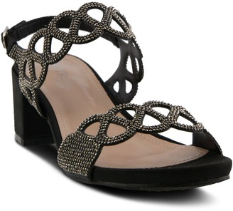 Spring Step Patrizia by Adjustable Block-Heel Sandals - Xyzana