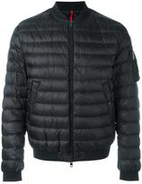 Moncler padded bomber jacket - men - Feather Down/Polyamide - XL