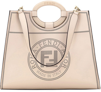 Fendi Runaway Calf Liberty Tote Bag