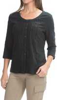 Royal Robbins Oasis Embroidered Shirt - 3/4 Sleeve (For Women)