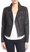 Cupcakes And Cashmere Women's 'Sid' Faux Leather Moto Jacket