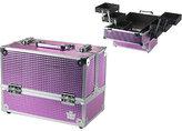 Ulta Caboodles Pink Bubble Metallic Stylist Case