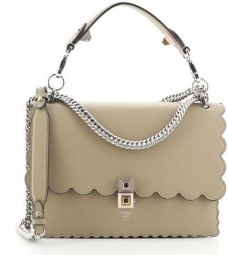 Fendi Kan I Bag Leather Medium